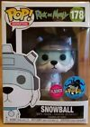 Funko POP - Rick And Morty Flocked Snowball -Stan Lee's L.A. Comic Con Exclusive