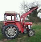Massey Ferguson 165 Tractor Cab and Loader Low hours  Original