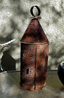 ANTIQUE ORIGINAL PUNCHED TIN 19th Cent CANDLE LANTERN