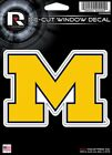 Michigan Wolverines Die Cut Decal Car Window Laptop Tumbler See Description