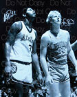 Larry Bird Magic Johnson Signed 8X10 photo picture poster autograph RP