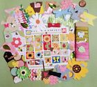 Spring die cuts punchies lot stickers cards scrapbook craft DIY Summer