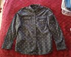 Eddie Bauer tall womans Stines Flannel Shirt Large Tall