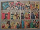 Miss Cairo Jones Sunday by Bob Oksner from 12 30 1945 Half Page Size Full Color