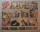 Miss Cairo Jones Sunday by Bob Oksner from 2 17 1946 Half Page Size Full Color