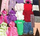 Toddler Girl Clothes Lot 12 months baby Fall Winter pants jackets pajamas pink