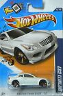 Hot Wheels Faster Than Ever 12 Infiniti G37 White