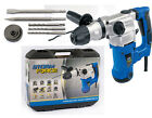 Draper Storm Force SDS Rotary Hammer Drill Kit - Rotation Stop 83589 1250w 230v