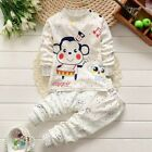 Baby Boy Girl Clothes Kids Clothes Sets T shirt+pants Suit Clothing Set Animal P