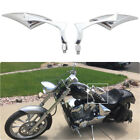 Motorcycle Chopper Cruise Bobber Chrome Blade Side Mirrors 8 10mm For Honda Fury