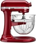 KitchenAid 6 Quart Professional 6500 Stand Mixer: Design Series Glass Bowl - Can