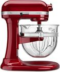 KitchenAid 6 Quart Professional 600 Stand Mixer: Design Series Glass Bowl - Cand