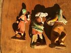 3 Fontanini Plastic Depose Italy 1983 1992 1993 Sheep Duck Girl Boy Approx 5