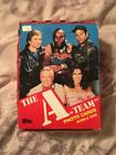 1983 Topps The A-Team TV Show Full Box 36 Factory Sealed Wax Packs Photo Cards