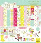 Photoplay Paper BLOOM 12x12 Collection Kit Spring Home Garden Scrapbook
