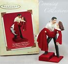 2003 Hallmark Scarlett O'Hara and Rhett Butler Ornament Gone With The Wind Stair
