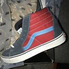 VANS SK8 HI SIZE 10 MENS NAVY RED RARE OLD SKOOL AUTHENTIC ERA PYRAMID NEW NIB