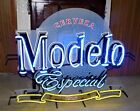 Large 2013 MODELO ESPECIAL Beer NEON Sign AUTHENTIC NEON (EX+) WOW!!! MINTY!!!