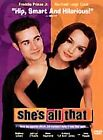 Shes All That (DVD, 1999) Rachael Leigh Cook, Freddie Prinze, Jr.