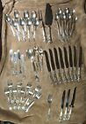 Solid Sterling Silver GORHAM CHANTILLY 46 piece place set flatware servers