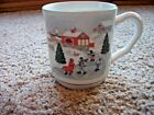 Sango Silent Night LOT OF 4 MUGS Joan Luntz, 3900 EXCELLENT More available