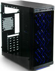 VIVO ATX Mid Tower Computer Gaming PC Case w Glass Window 4 Fan Ports USB 30