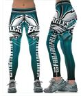 Philadelphia Eagles LARGE 6 8 Women Leggings 13 Philly Football Yoga Athletic