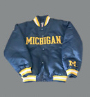 Vintage NCAA Michigan Wolverines Jacket Youth Size Small 8