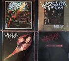 Wargasm- Why Play Around?, Ugly, Fireball, Suicide Notes (4 CD Lot) Meliah Rage