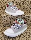 CONVERSE CHUCK ALL STAR BABY TODDLER SHOES SIZE 9C GRAY PINK MINT DOUBLE TONGUE