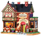 Lemax 15223 CHURCHILL'S BAKERY & BISTRO Building Retired Christmas Village I