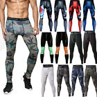 Mens Boys Compression Base Layer Tights Bottoms Thermal Under Gear Skin Pants
