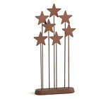 Willow Tree Nativity Collection Holiday Christmas Metal Star Backdrop Brown New