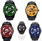 Nike ANALOG WATCH SILICONE BAND New W/out Tags No Box 5 To Choose From Free Ship