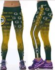 Green Bay Packers L XL 10 12 Leggings 12 Rodgers Pack Football Blue Green