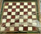FRANKLIN MINT COCA COLA STAINED GLASS CHESS GAME SET 24K GOLD PLATED HTF