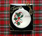 Fiesta Holly 2004 Christmas Holiday Ornament w/box ~