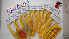 Paper Quilling 4 tool + 5mm shades of yellow paperslotted toolcrimper DIY