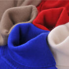 USPS Womens Long Sleeves Cashmere Sweaters Winter Polo Neck Turtleneck Pullover