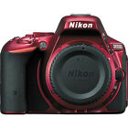 Nikon D5500 DX format Digital SLR Body Red