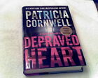 Kay Scarpetta Depraved Heart by Patricia Cornwell 2015 Hardcover 1st SIGNED
