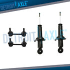 2WD Rear Shocks Absorbers  Sway Bars 4pc Kit For 2004 2011 Mitsubishi Galant