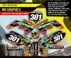 2007 - 2015 2016 2017 HONDA CRF 150R DIRT BIKE GRAPHICS KIT MOTOCROSS MX DECALS