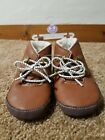New Carters Baby Boy Crib Shoes Brown Boots 6 9 months