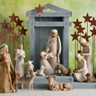 Willow Tree Nativity Metal Star Backdrop by Susan Lordi NEW FREE Shipping