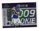 2009 Playoff Contenders #112 Percy Harvin Rookie Ticket Auto