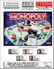 Monopoly Pinball Game FULL Service & Repair Color Operations Manual Stern     Vc