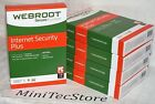 Webroot SecureAnywhere Internet Security Plus 2017 3Device 1Year new sealed DVD