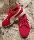 PUMA Red  White Sneakers Girls Size US 4
