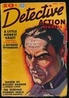 DETECTIVE ACTION STORIES April May 1937 Pulp Magazine XX YOU ARE MY RAT